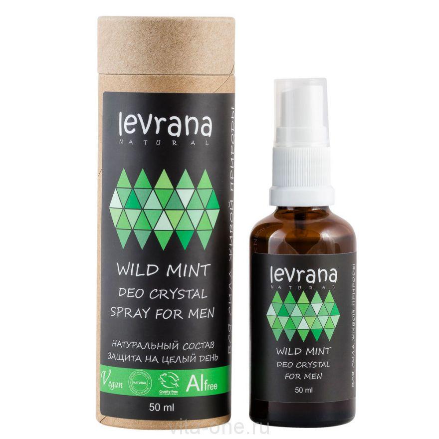 Натуральный дезодорант Дикая Мята для мужчин Levrana (Леврана) 50 мл